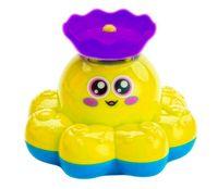 """Игрушка для купания """"Фонтан-Осьминожка"""" (желтый)"""