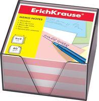 """Бумага для заметок """"Erich Krause"""" (90х90 мм; персиково-белая; арт. 6601)"""