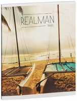 """Тетрадь полуобщая в клетку """"Realman"""" (48 листов; в ассортименте)"""