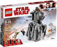 """LEGO Star Wars """"Тяжелый разведывательный шагоход Первого Ордена"""""""
