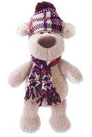 """Мягкая игрушка """"Пёс Филька в шапке"""" (20 см)"""