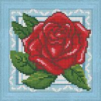 """Алмазная вышивка-мозаика """"Роза в кружевах"""""""