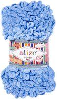 "Пряжа ""ALIZE. Puffy Fine №112"" (100 г; 14 м; голубой)"