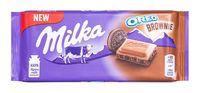 """Шоколад молочный """"Milka. Oreo Brownie"""" (100 г)"""