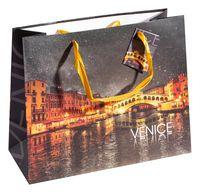 """Пакет бумажный подарочный """"Венеция"""" (32,5х26x13 см)"""