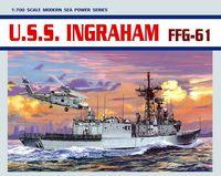 "Корабль ""U.S.S. Ingraham FFG-61"" (масштаб: 1/700)"