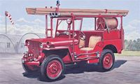 "Автомобиль ""Willys Fire Jeep"" (масштаб: 1/24)"
