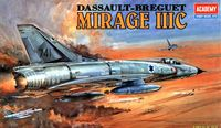 Самолет Mirage III-C Fighter (масштаб: 1/48)