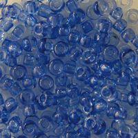 Бисер прозрачный №01131 (сине-сиреневый; 10/0)