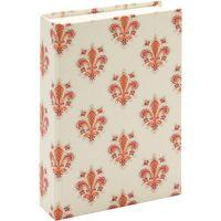 """Подарочная коробка """"Lilies"""" (10,5х16х3,5 см; розовые элементы)"""