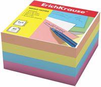 """Бумага для заметок """"Erich Krause"""" (90х90 мм; цветная; арт. 5139)"""