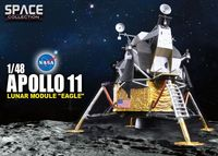 """Космический корабль """"Apollo 11 Lunar Modele Eagle"""" (масштаб: 1/48)"""
