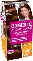 """Краска-уход для волос """"Casting Creme Gloss"""" (тон: 432, шоколадный трюфель)"""