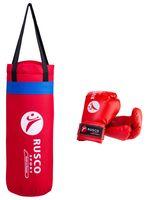 Набор для бокса (6 унций; красный)