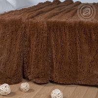 "Плед ""Шиншилла"" (160х220 см; коричневый)"