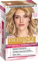 "Крем-краска для волос ""Excellence Creme"" тон: 8.13, светло-русый бежевый"