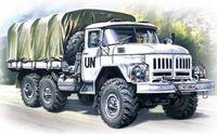 Армейский грузовой автомобиль Зил-131 (масштаб: 1/72)