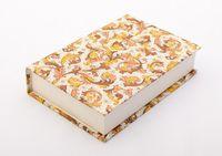 "Подарочная коробка ""Traditional"" (10,5х16х3,5 см; оранжевые элементы)"