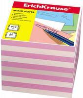 """Бумага для заметок """"Erich Krause"""" (90х90 мм; бело-розовая; арт. 4455)"""