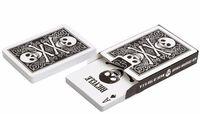 """Карты для покера """"Bicycle Skull"""" (чёрная рубашка)"""