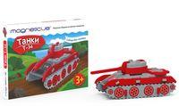 """Сборная модель """"Танк Т-34"""" (10 деталей)"""