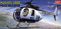 Вертолет Hughes 500D Police Helicopter (масштаб: 1/48)