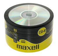Диск CD-R 700Mb 52x Maxell Bulk 50