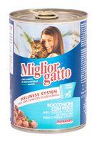 "Консервы для кошек ""Gatto"" (405 г; рыба)"