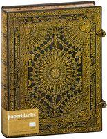 "Записная книжка Paperblanks ""Вентальо Марроне"" в линейку (формат: 180*230 мм, ультра)"