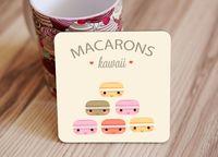 "Подставка под кружку ""Macarons"" (art.6)"