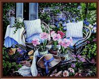 """Картина по номерам """"В саду"""" (400х500 мм)"""