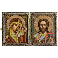 """Набор для вышивания """"Христос Спаситель и Пресвятая Богородица Казанская"""" (230х140 мм)"""