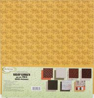 "Набор бумаги для скрапбукинга ""Физалис"" (305х305 мм)"