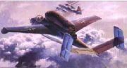 """Истребитель """"He162A-2 Salamander """" (масштаб: 1/48)"""