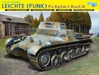 """Легкая радийная бронемашина """"Leichte (Funk) Pz.Kpfw.I Ausf.A"""" (масштаб:1/35)"""