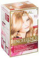 """Крем-краска для волос """"Excellence"""" (тон: 8.12, мистический блонд)"""