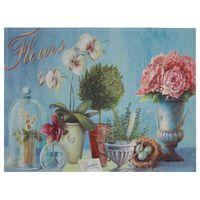 """Коврик для входной двери """"Цветы"""" (60х45 см, арт. 33115)"""