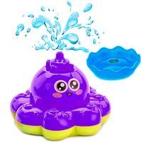 """Игрушка для купания """"Фонтан-Осьминожка"""" (фиолетовый)"""
