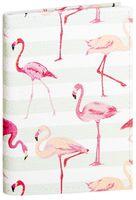 """Обложка на паспорт """"Фламинго"""" (арт. 11031)"""