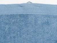 Полотенце махровое (50x100 см; темно-голубое)