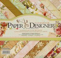 "Набор бумаги для скрапбукинга ""Вальс цветов"" (175х175 мм)"