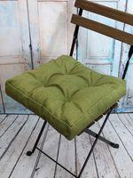 """Подушка на стул """"Outlet"""" (40х40 см; зелёный меланж)"""