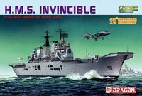 """Авианосец """"H.M.S. Invincible"""" (масштаб: 1/700)"""