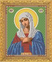 """Вышивка бисером """"Пресвятая Богородица Умиление"""" (арт. 7334)"""