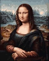 "Картина по номерам ""Мона Лиза"" (400х500 мм)"