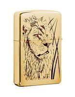 """Зажигалка Zippo """"Proud Lion"""" (204B)"""