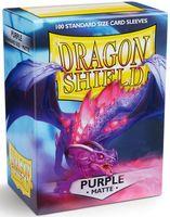 """Протекторы """"Dragon Shield"""" (63х88 мм; 100 шт.; матовые фиолетовые)"""
