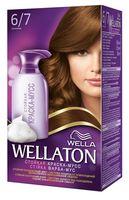 "Краска-мусс для волос ""Wellaton"" (тон: 6/7, шоколад)"