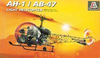 """Сборная модель """"Легкий вертолет AH.1 / AB-47"""" (масштаб: 1/48)"""