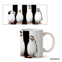 "Кружка ""Пингвины Мадагаскара"" (арт. 405)"